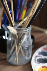 oil paint brushes for beginners
