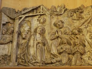 Intro to wood relief carving sculpture workshop with yasminthe