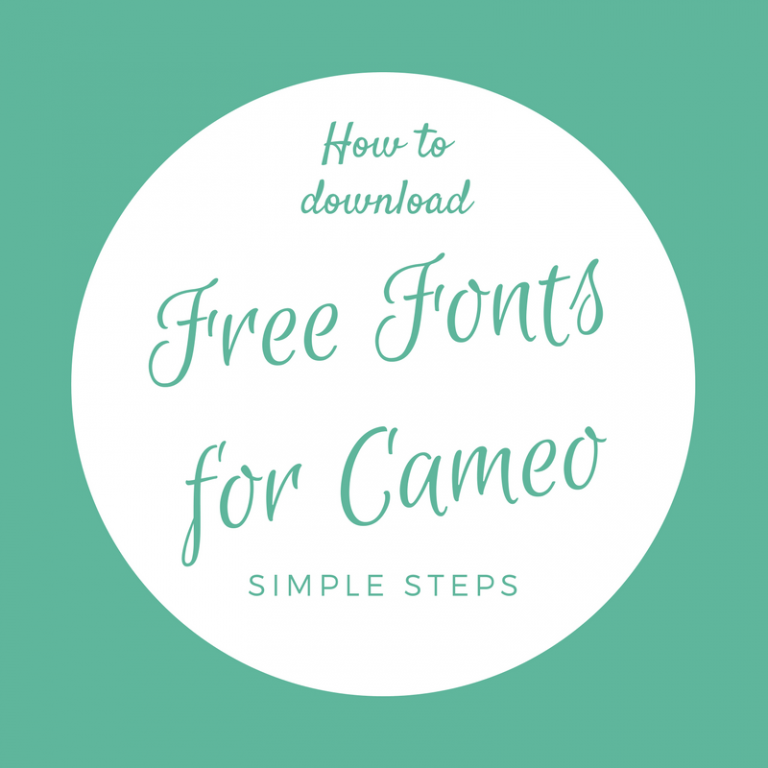 Free Fonts For Silhouette You Don't Want To Miss Out On!