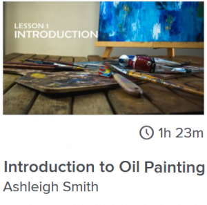 Introduction to Oil Painting course online