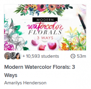 watercolor workshop online