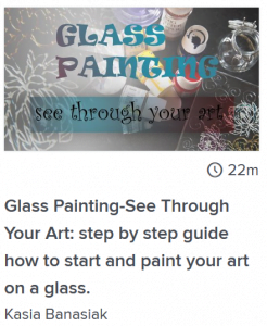 glass painting classes online
