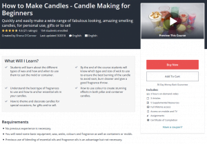 classes on how to make candles