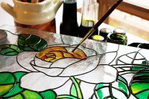 online glass art classes