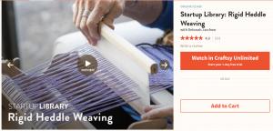 rigid heddle weaving classes online