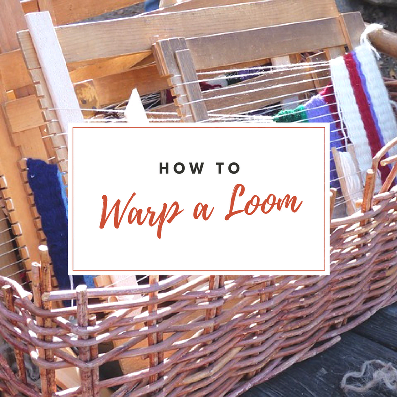 how to warp a loom for beginners