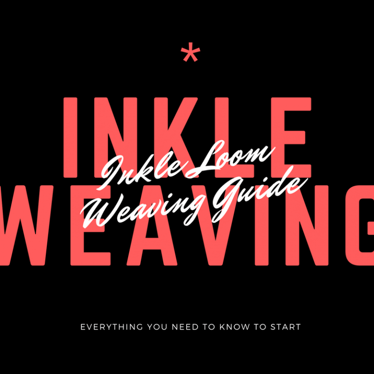 Ultimate Beginner's Guide To Inkle Loom Weaving