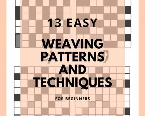 13 Different Types of Loom Techniques and Weaving Patterns for Beginners