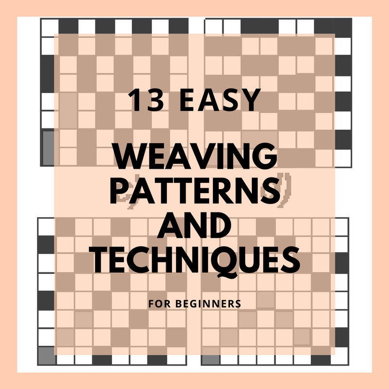 Weaving patterns and weaving techniques for beginners(1)