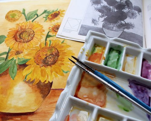 Best Palette For Watercolor Painting