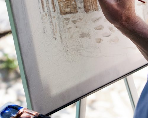 Watercolor Painting On Canvas: Here Is How!