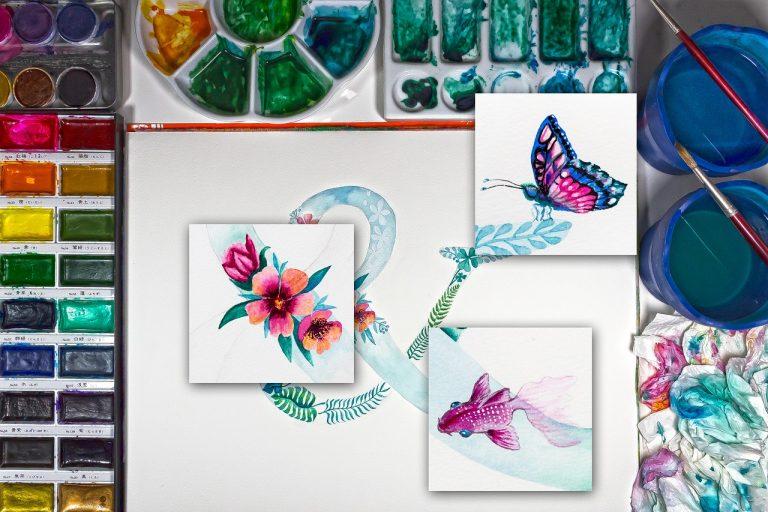5 Beginner Watercolor Supplies