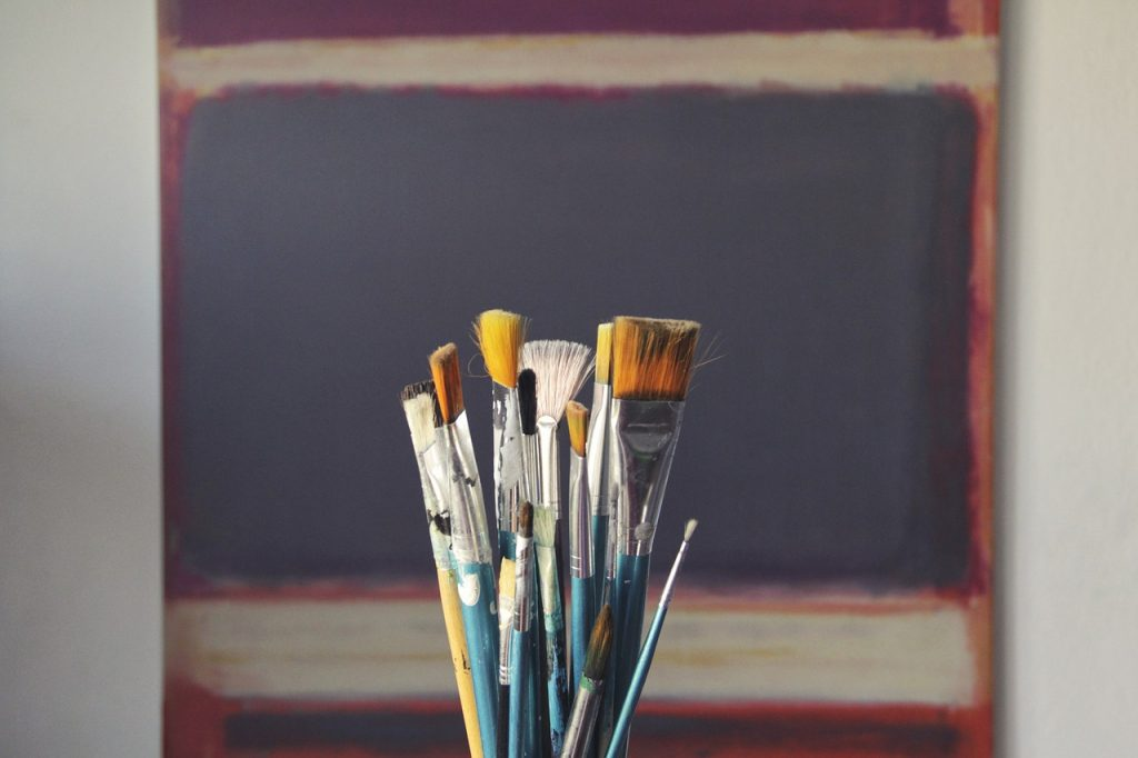 how to acrylic painting