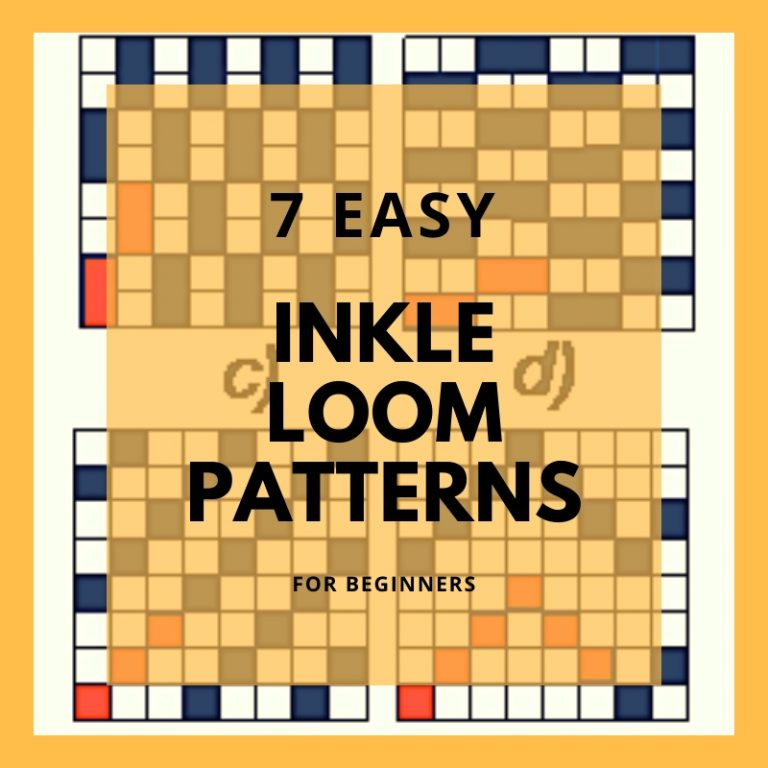 7 Simple Inkle Loom Patterns For Beginners
