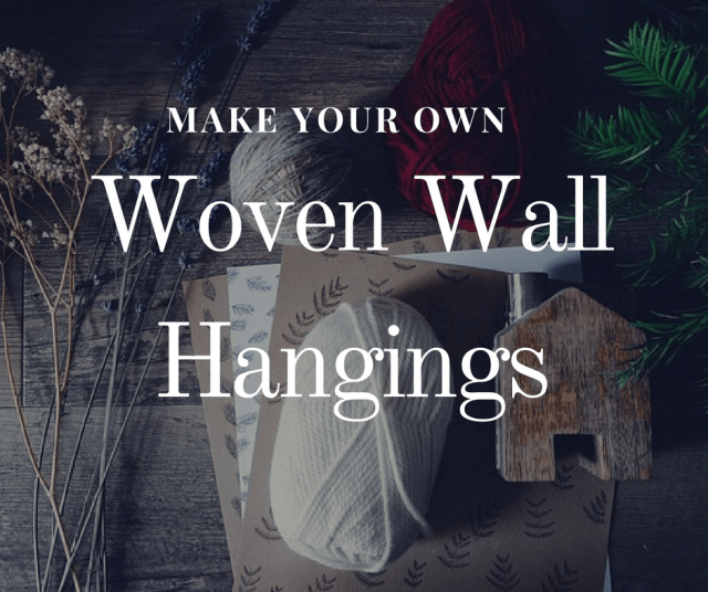 Tapestry Weaving Techniques & Patterns For DIY Wall Hangings