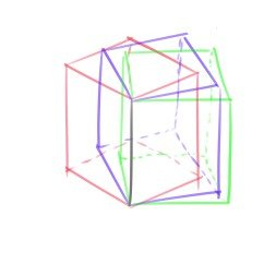cube perspective 3
