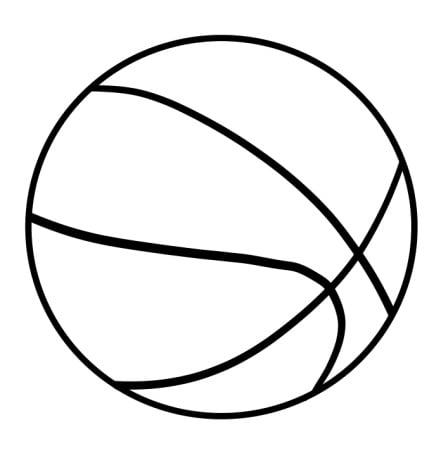 draw basketball step 4