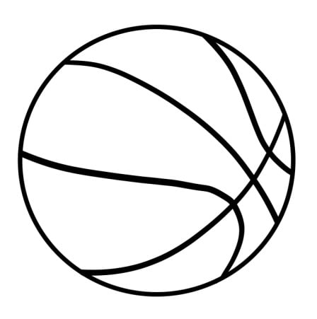 draw basketball step 5