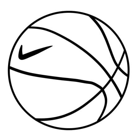 draw basketball step 6