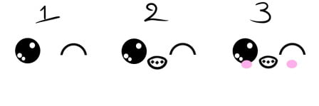 how to draw cute eyes 7