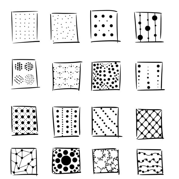 patterns with dots