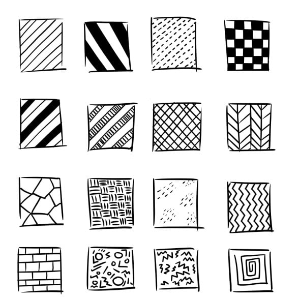 patterns with lines