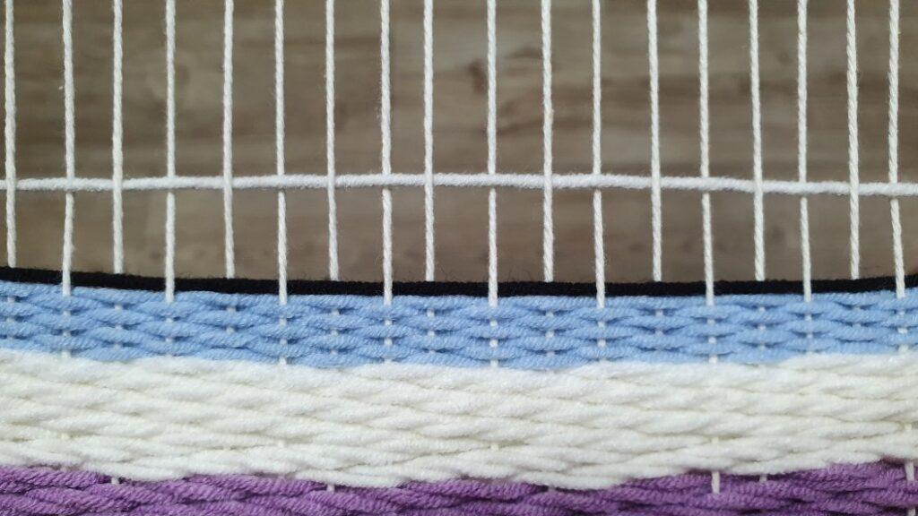 checkerboard weave pattern 2
