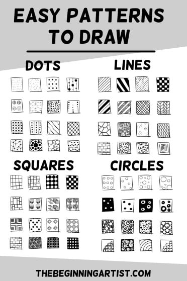 Easy patterns to draw for beginners