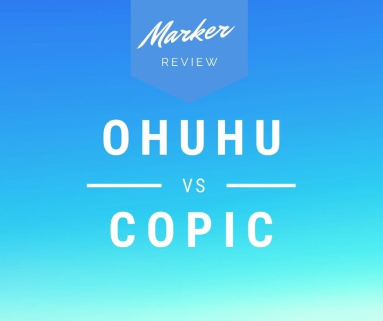 Copic Vs Ohuhu Markers: Which One Is The Best?