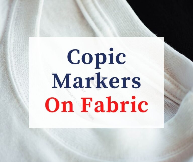 Can You Use Copic Markers On Fabric?