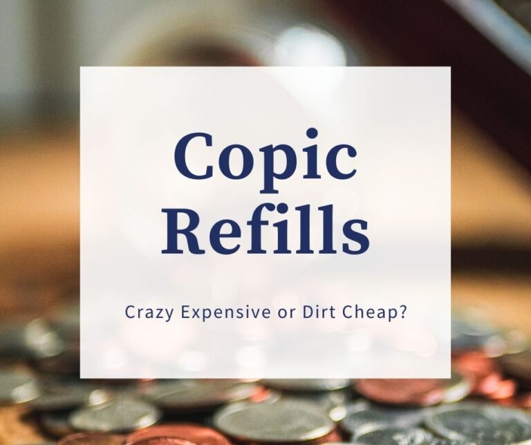 Copic Marker Refills: Crazy Expensive Or Dirt Cheap?