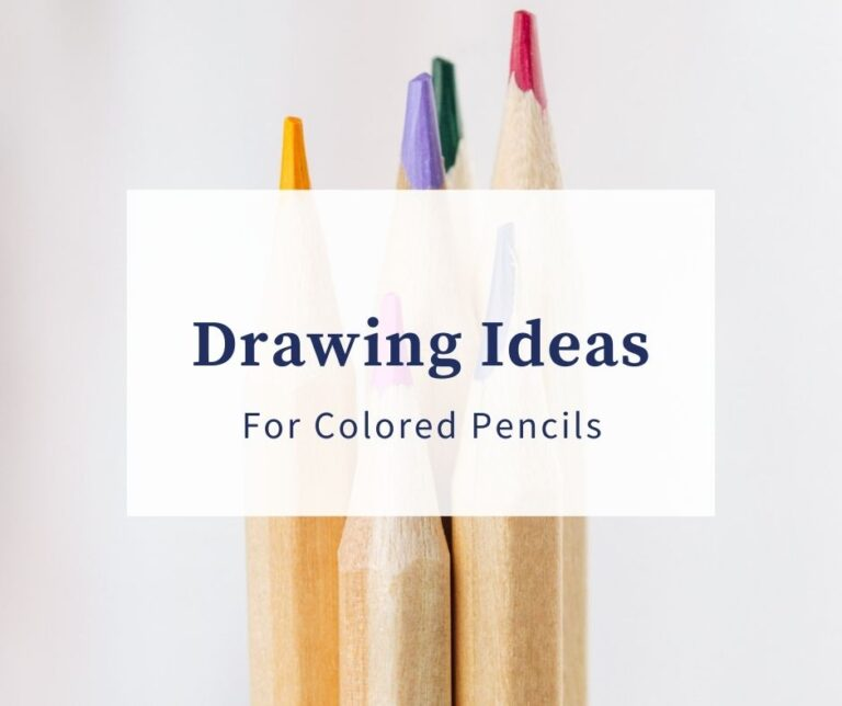 7 Easy Colored Pencil Drawing Ideas For Beginners