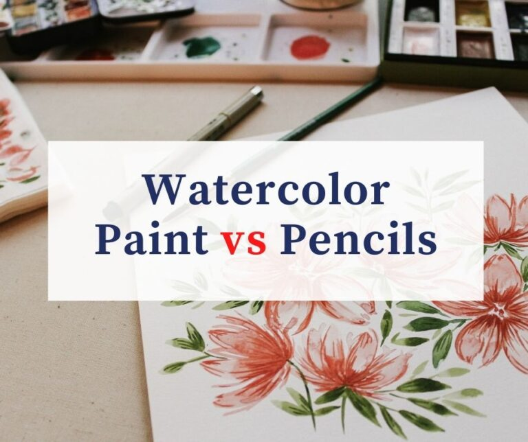 Watercolor Pencils Vs Watercolor Paint