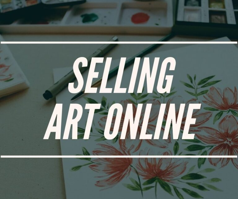 How To Make Money Online As An Artist With Your Art