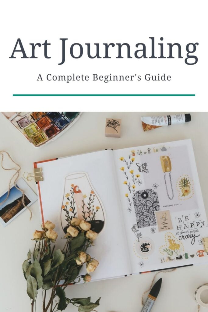 art journal ideas for beginners
