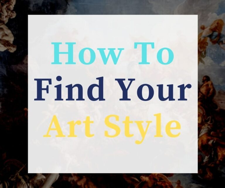 How To Find Your Art Style With 7 Simple Steps