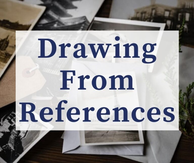 Drawing From Reference Images & Photos The RIGHT Way